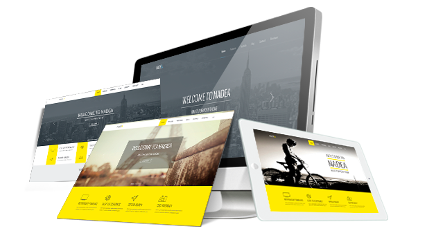 Nadea - Responsive Multi-Purpose HTML5 Template